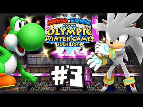 Mario & Sonic At the 2014 Sochi Winter Olympic Games - (1080p) Part 3