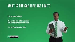 Rental Essentials Episode 8 - The Age Limit | Enterprise Rent-A-Car