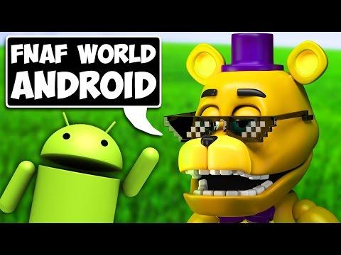 Скачать игры fnaf world - Android
