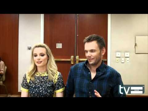 Gillian Jacobs and Joel McHale (Community Season 3) Interview - March 2012