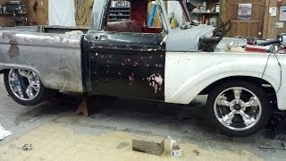 1965 Ford f100 restoration SLIDE SHOW