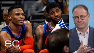 Raptors nearly traded for Paul George, Russell Westbrook to try to keep Kawhi - Woj | SportsCenter