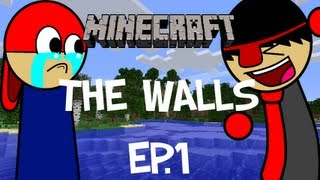 """YOU TALKED TO ANTVENOM"" Minecraft: The Walls Ep.1 Pt.1 w/ jdr4450"