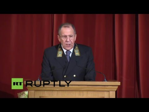 LIVE: Sergei Lavrov to speak at Diplomats' Day in Moscow - English audio