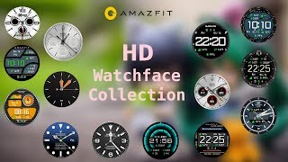 Amazfit - Top 15 HD watch faces for amazfit pace smartwatch | High Definition watch faces for amazft
