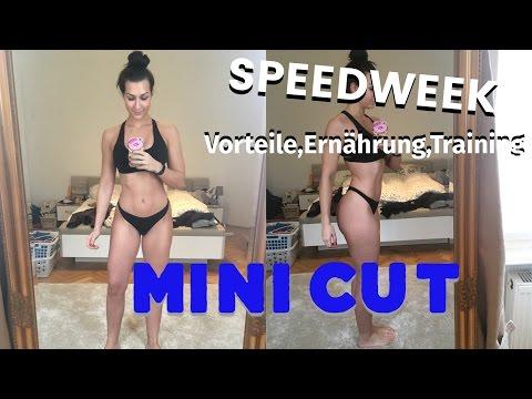 Mini Cut / Speedweek 1.0 | Vorteile gegenüber einer langen Diät, Ernährung, Training