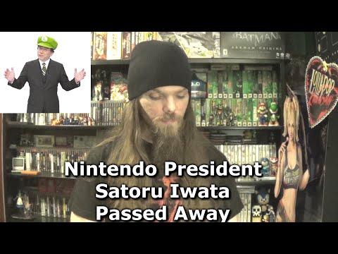 Nintendo President Satoru Iwata Passed Away