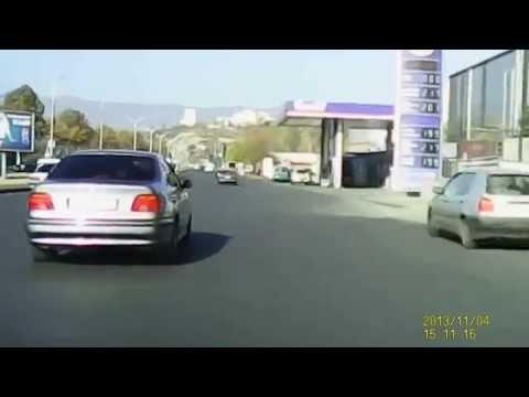 ავარია და კახელი აგინებს დამნაშავე ტაქსის მძღოლს , fatal car acident