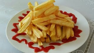 سیب زمینی سرخ کرده ترد Crunchy French Fries | Sibzamini Sorkhkarde Tord