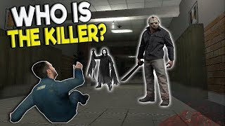 HORROR MOVIE SLASHERS CHASE SCARED TEENS! - Garry's Mod Gameplay - Gmod Slasher Survival