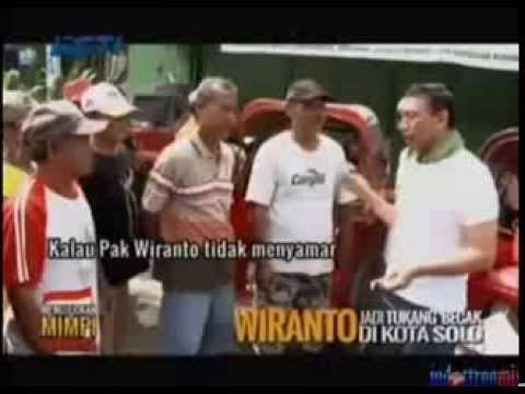 Download Lagu Wiranto Nyamar Jadi Tukang Becak MP3 Free