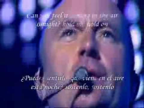 Phil Collins - In the air tonight - sub - español - ingles
