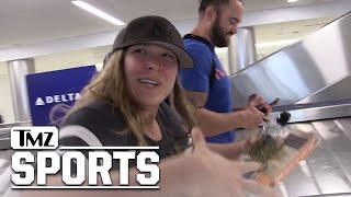 Ronda Rousey Teases WWE Future, UFC Husband Travis Browne Going Too? | TMZ Sports
