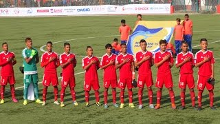 Nepal VS Japan 1 - 0 | Charity Football Match 2016