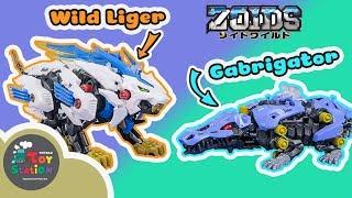 Zoids Thú Vương Đại Chiến Wild Liger và Gabrigator ToyStation 342
