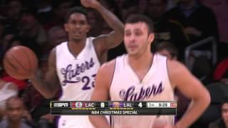Larry Nance Jr. Scores on Own Basket