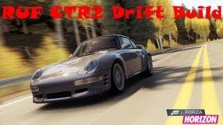Forza Horizon RUF CTR2 Drift Build + Forza 4 Speed Drifting Comp Winner Announcement!