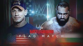 John Cena vs Rusev - Flag Match WWE Battleground Highlights