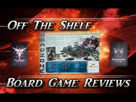 Off The Shelf Board Game Reviews Presents - Deadzone (Part 3 The Review)