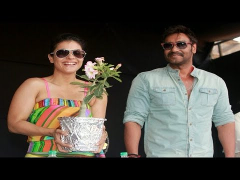 Kajol, Ajay Devgn campaign for sensible development of Lonavala-Khandala