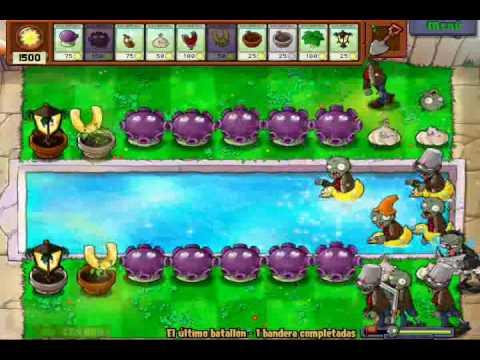Plantas vs Zombis: Último Batallón - Estrategia Gasoseta
