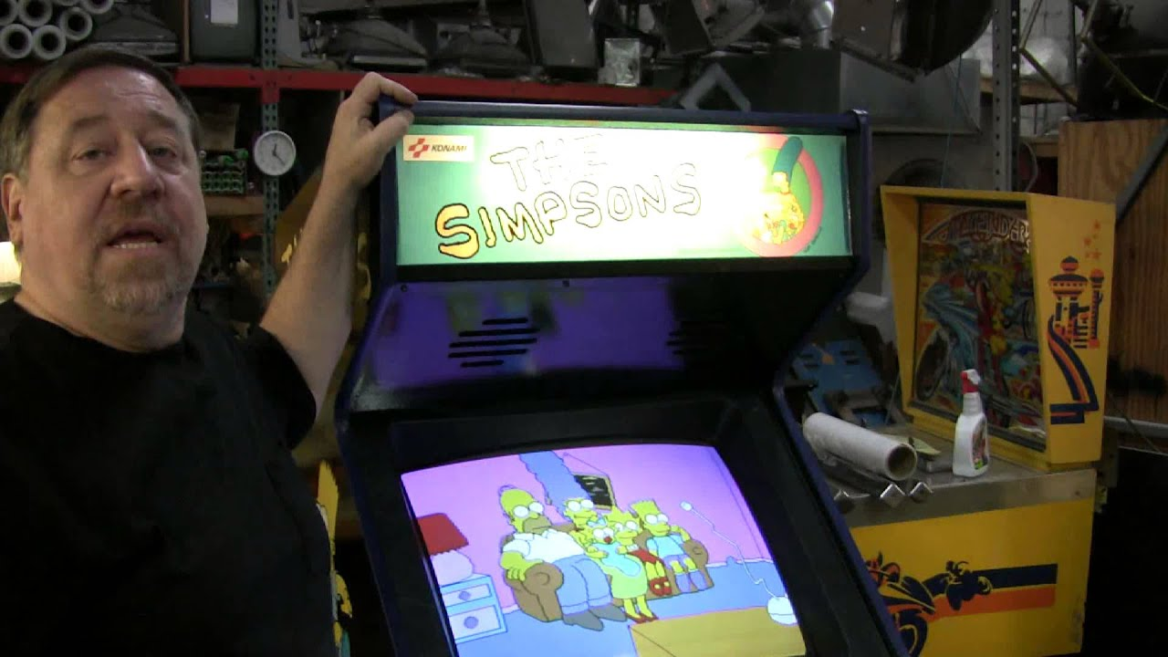 Simpsons Arcade Video Game