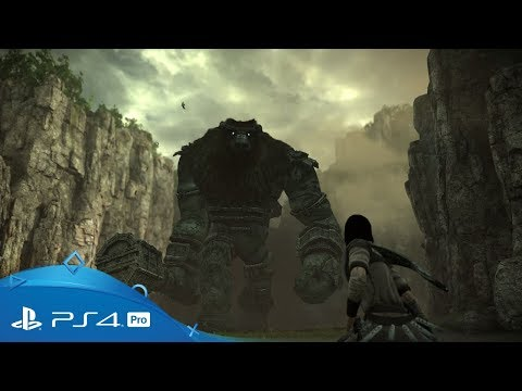 Shadow of the Colossus | TGS 2017 Trailer | PS4 Pro