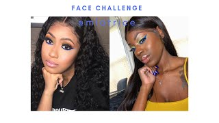 Young Miami Inspired Makeup #FaceChallenge