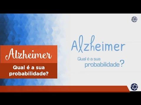 Vídeo - Alzheimer - Probabilidade