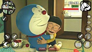 [20MB] GTA SA Doraemon MOD With Nobita House For Android