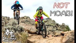 YOU'LL NEVER GUESS WHERE THIS AMAZING DESERT RIDING IS! // Crested Butte Guided MTB Trip 2017