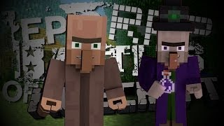 Witch vs Villager. Epic Rap Battles of Minecraft Season 2. (Animated)