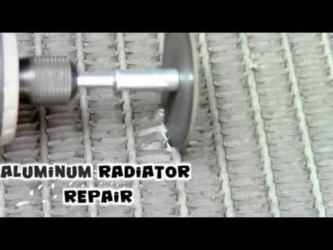How to mend a leaking radiator