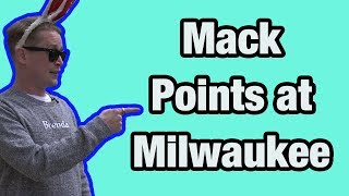 Macaulay Culkin Points at Milwaukee