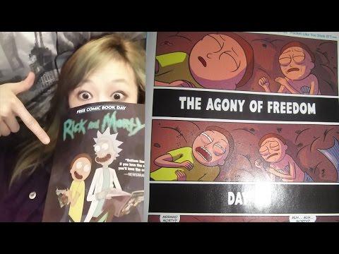 Misc Cartoons - Rick And Morty - Tiny Ricks Song
