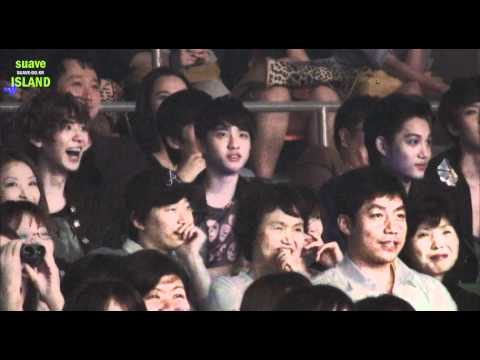 [Fancam] 120527 EXO-K @ Super Show 4 Encore Music Videos