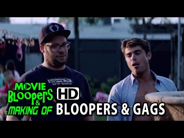 Neighbors (2014) Bloopers, Gag Reel & Outtakes