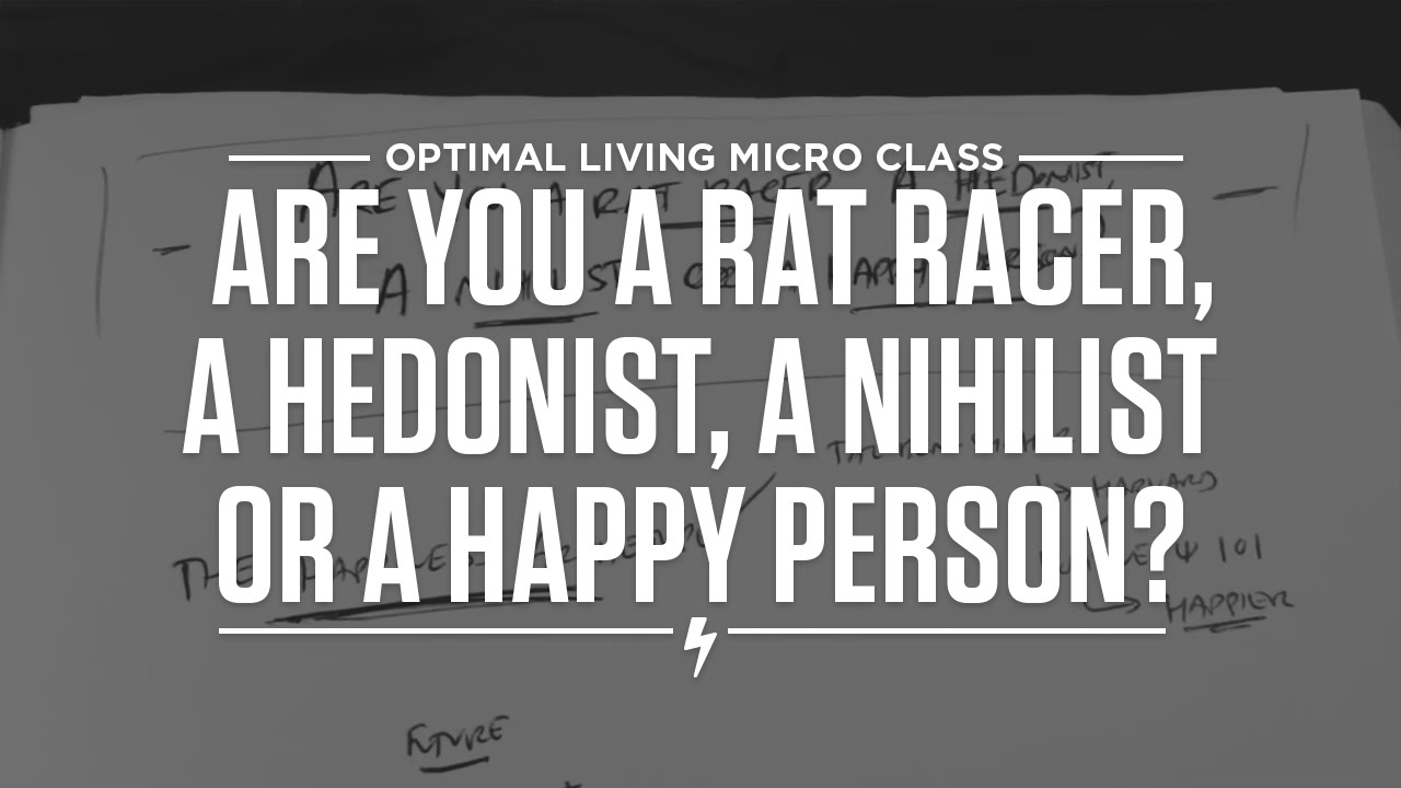 how to live like a nihilist
