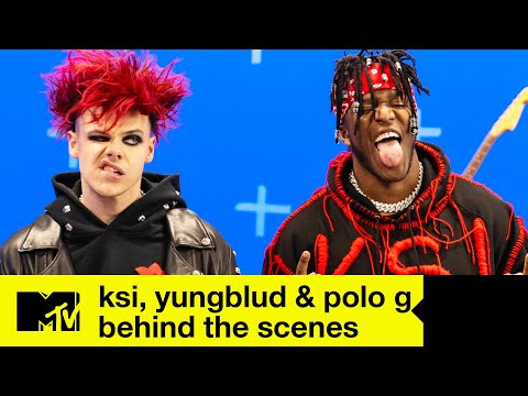 Download Lagu KSI x YUNGBLUD x Polo G - Patience Behind The Scenes | MTV Music.mp3