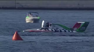 WATCH: Oberto Hydroplane flips at SeaFair