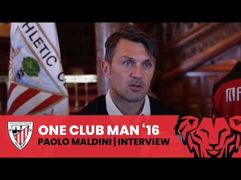 One Club Man Award: Entrevista completa con Paolo Maldini