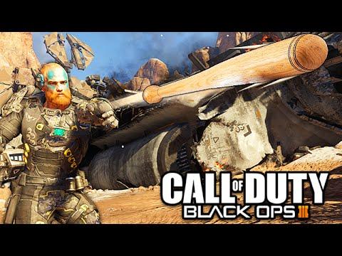 Black Ops 3 - FUNNY BASEBALL BAT CHALLENGE!   (Black Ops 3 Funny Moments)