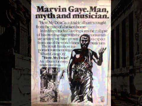"MARVIN GAYE. ""A Funky Space Reincarnation"". 1978. album version ""Here, My Dear""."