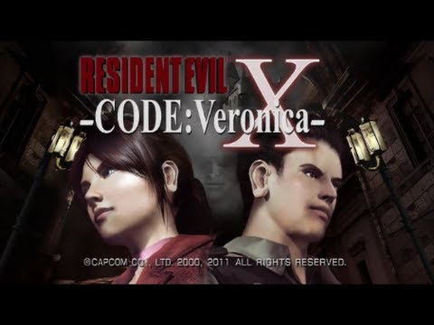 Resident Evil: Code Veronica X Walkthrough - A/S-Rank Part 1/6 HD Remastered