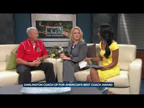 Darlington coach up for America's Best Coach Award