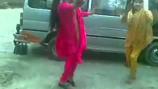 Pashto lock dance