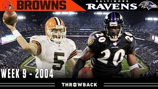 Prime Time Defensive Battle! (Browns vs. Ravens 2004, Week 9)