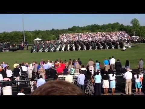 Stafford Colonial Forge High School Graduation 2014