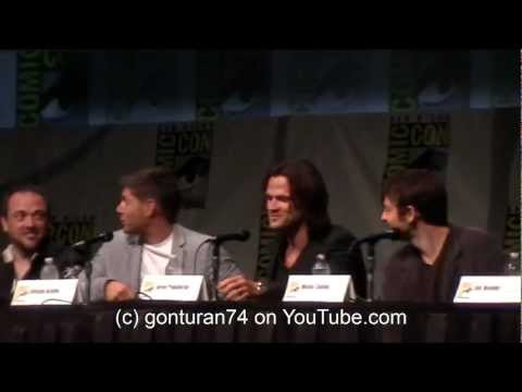 SDCC Supernatural FULL Panel Sunday July 15th 2012