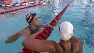 Kathleen Baker Sets World Record In 100m Backstroke | Summer Champions Series
